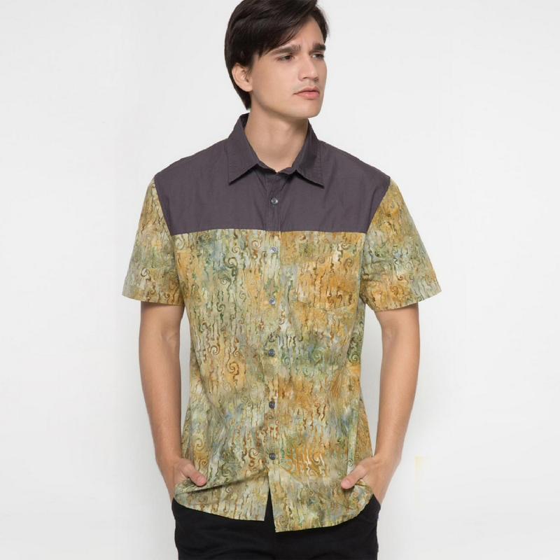 Arthesian Batik Pria Schizo Green