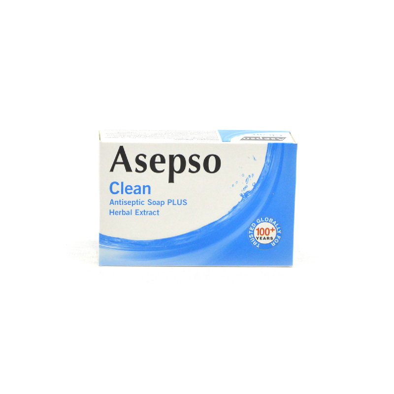 Asepso Soap Clean Blue 80 Gr