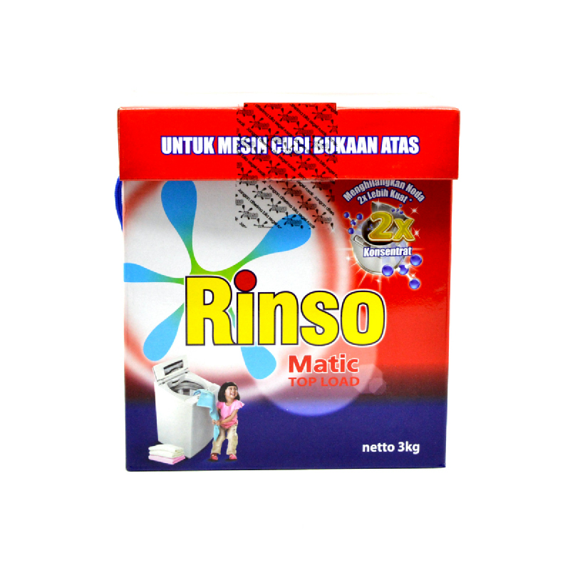 Rinso Matic Top Load 3Kg [20068886]