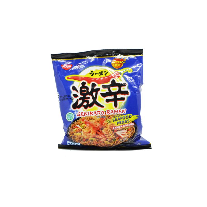 Gekikara Mie Instant Ramen Seafood Pedas 120 Gr