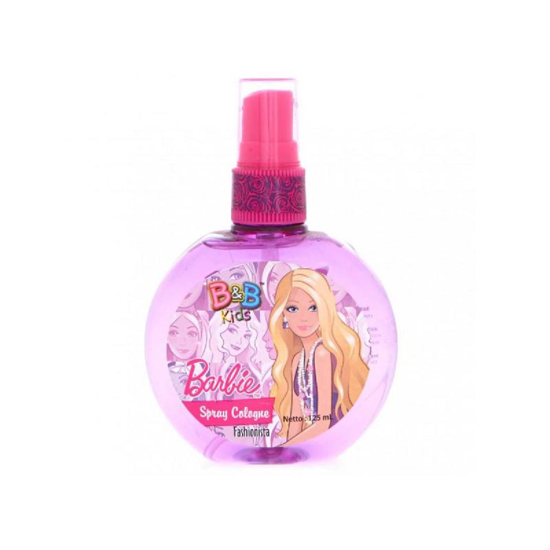 B&B Kids Barbie Spray Cologne Fashionista 125 Ml