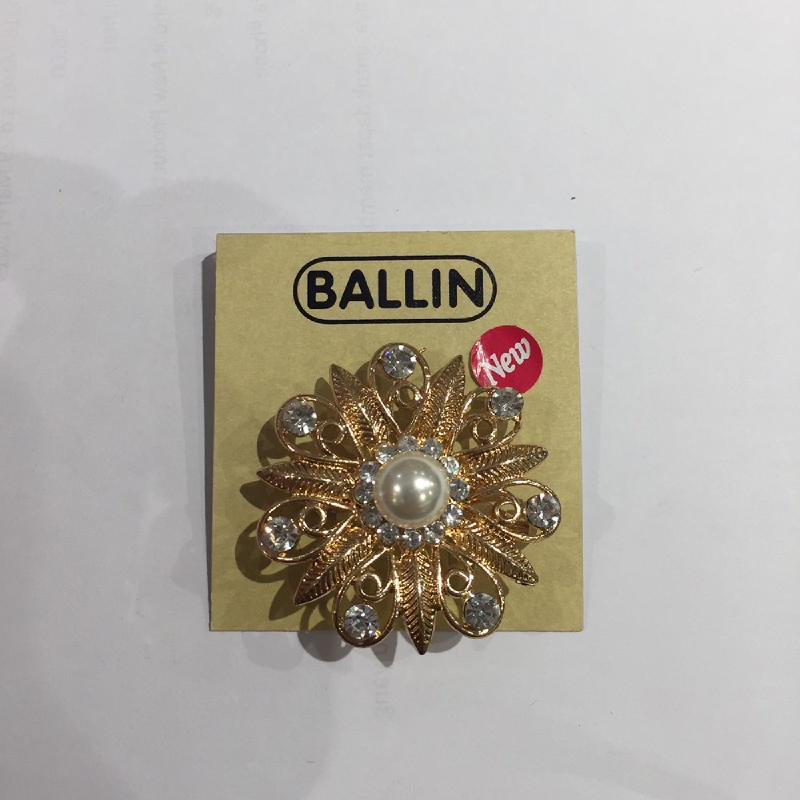 Ballin Women Brooch Flower XP-BR120-1 Gold