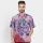 Batik Muda Hem Pekalongan Shirt Purple