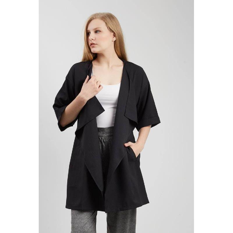 Tui Coat Black