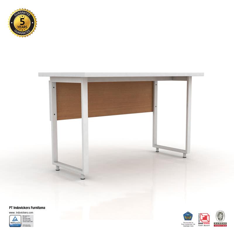Indovickers Ezy Table 60x120CM  Meja Kerja or Meja Kantor or Meja Belajar Tanpa Laci