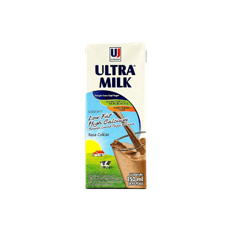 Ultra Milk Low Fat Hi-Calchoco 250 Ml