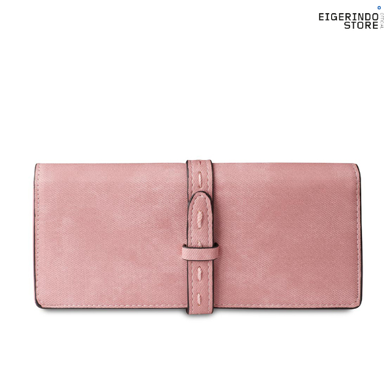 Exsport Long Belty Stitch Wallet - Pink