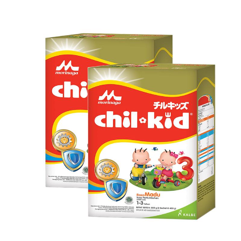 Morinaga Powder Milk Chil Kid Madu 800G (Get 2)