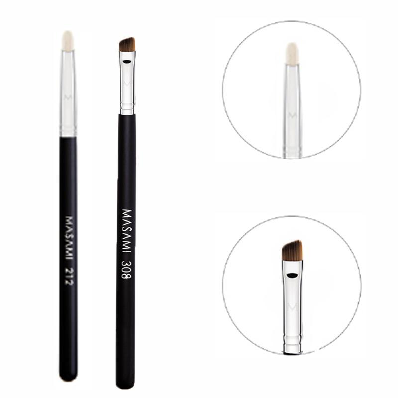 Masami 212 Pencil Brush + 308 Small Angled Brush