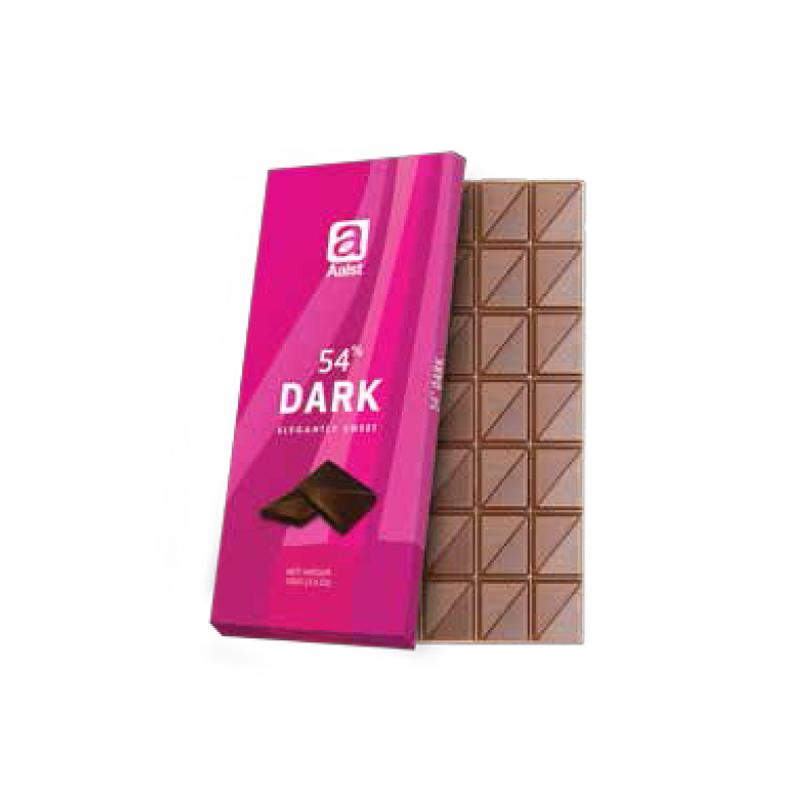 Aalst Chocolate 54% Dark Elegantly Sweet 100 Gr