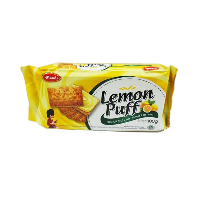 Monde Lemon Puff 100 gr