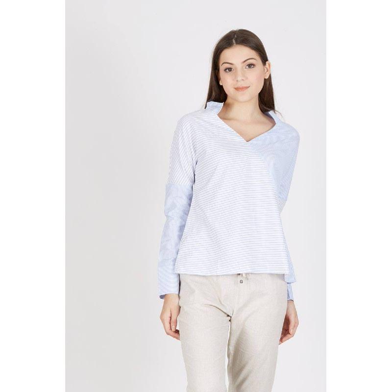 Perrin Shirt Stripe Blue