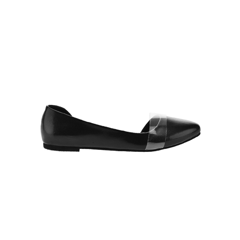 Alivelovearts Flat Shoes Eevee Black