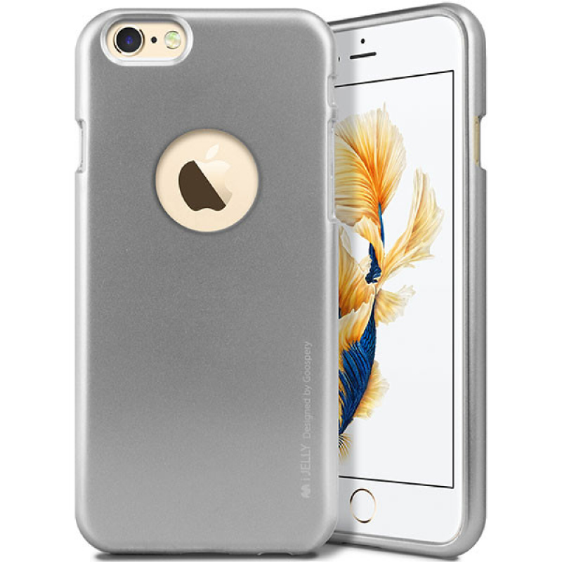 Goospery i-Jelly for iPhone 6s - Gray