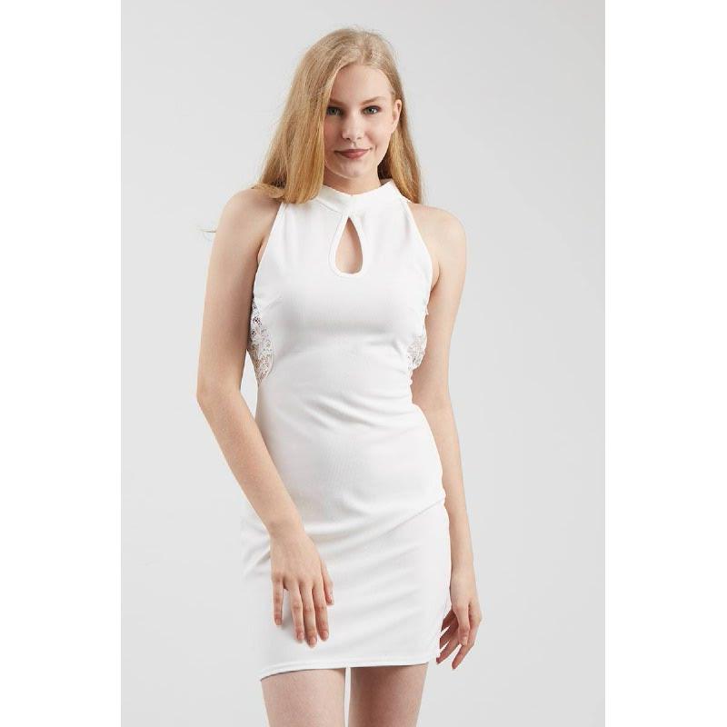 Francois Stenau Dress in White