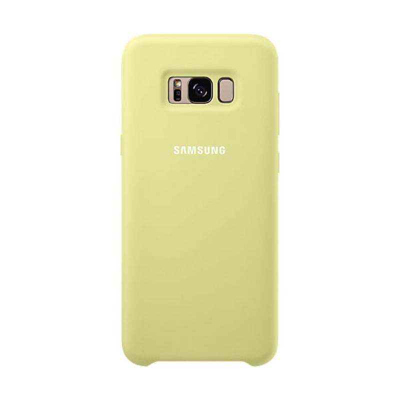 Samsung Silicone Cover For Galaxy S8+ Hijau
