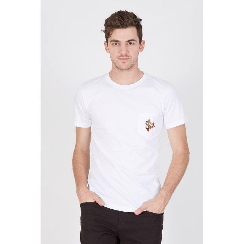 Men Oh Yeah Tshirt White