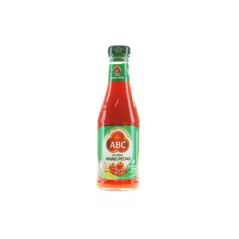 Abc Sambal Mns Pedas Botol 335 Ml