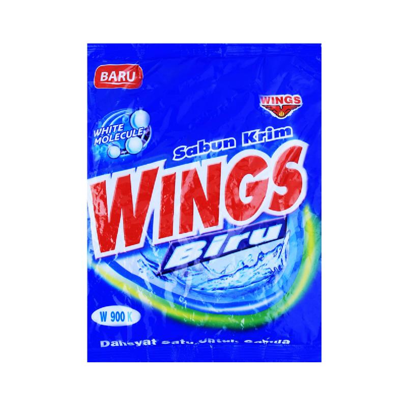 Wings Sabun Krim Biru 900K Bag 540 Gr