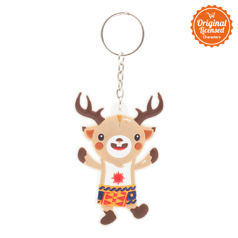 Asian Games 2018 Rubber Keychain Full Body Atung