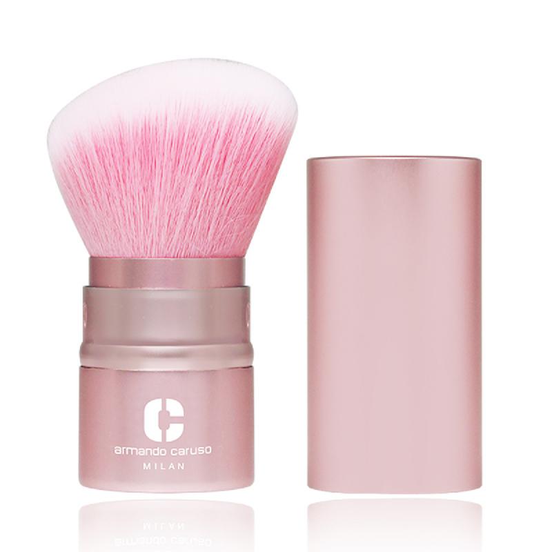 Armando Caruso 1001 Retractable Slanted Pink Kabuki Brush