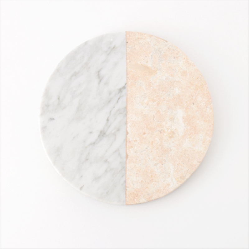 Round Poundretteite - Moonstone Marble - Multicolor