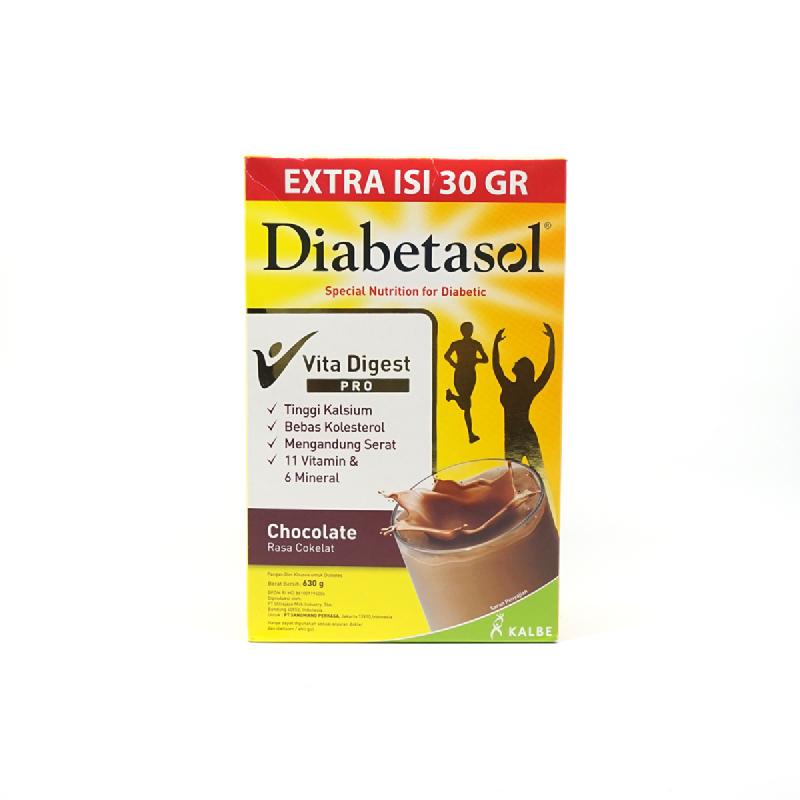 Diabetasol Coklat 600 Gr