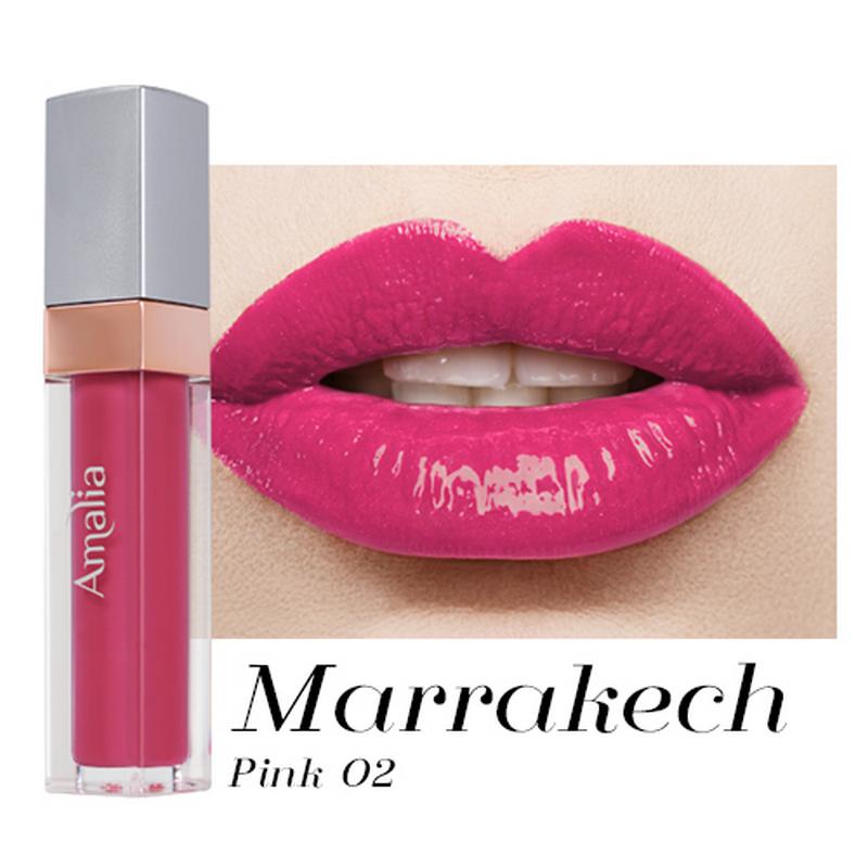 Amalia Matte Lip Cream Morocco Pink 02