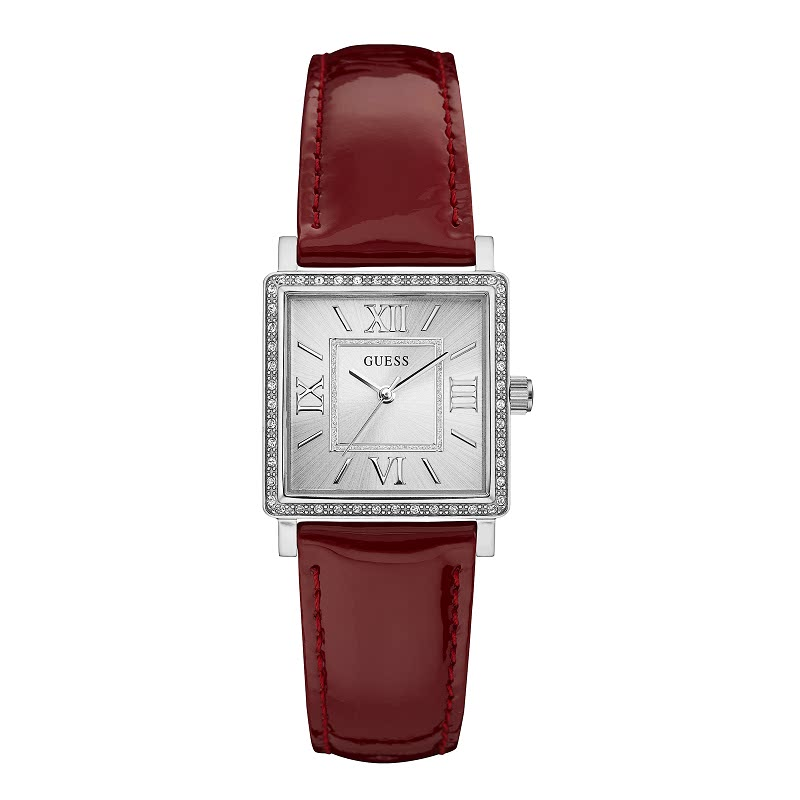 Guess Jam Tangan Wanita Analog W0829L2 Merah