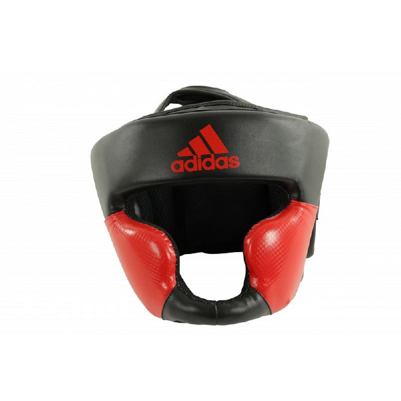 Adidas Combat Super Pro Training Head Guard Solar Red Black