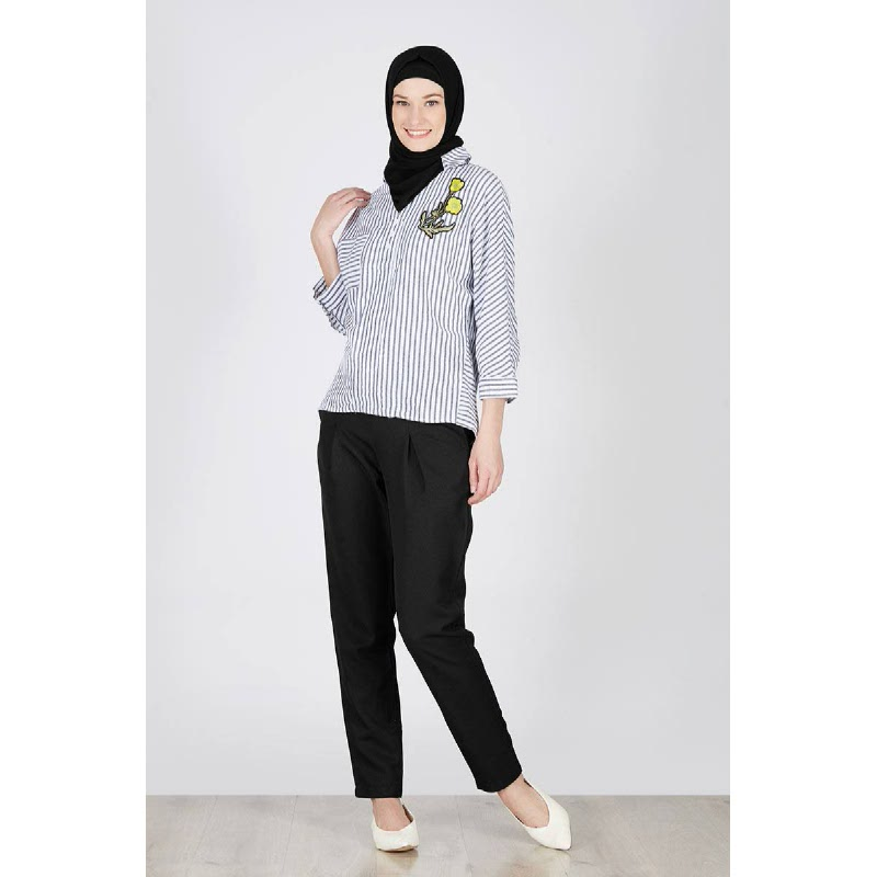 Jaleda Top Black