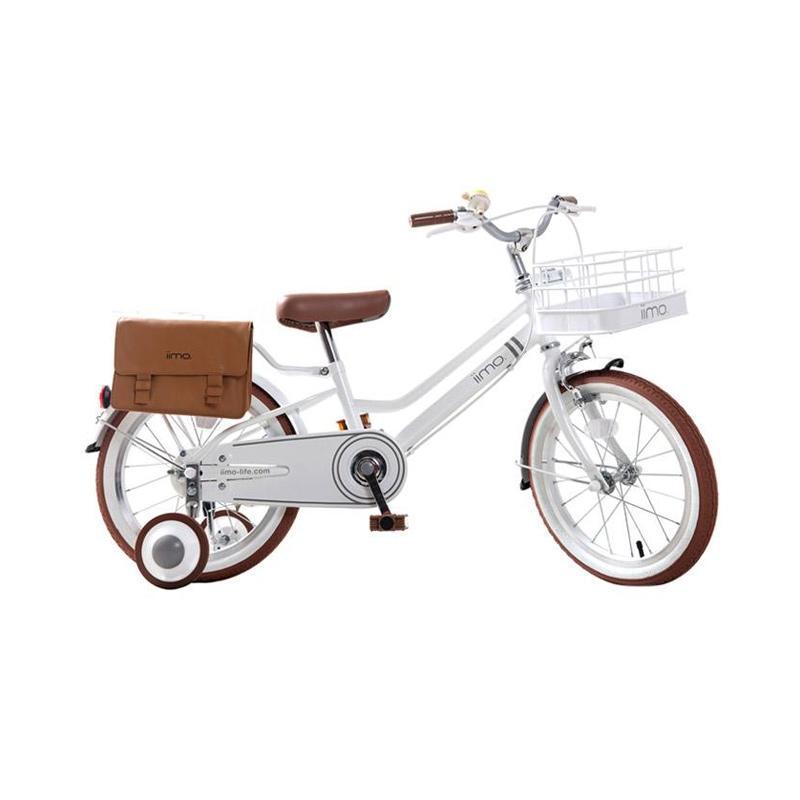 IIMO Kids Bike Sepeda Anak - White [16 Inch] White