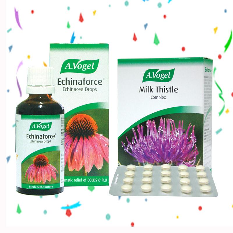 A. Vogel Echinaforce Tincture 50 ml + A.Vogel Milk Thistle Complex 60 Tablet