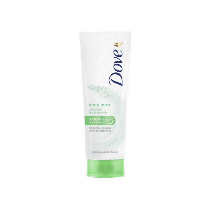 Dove Facial Foam Deep Pure Oil Control 50 Gr