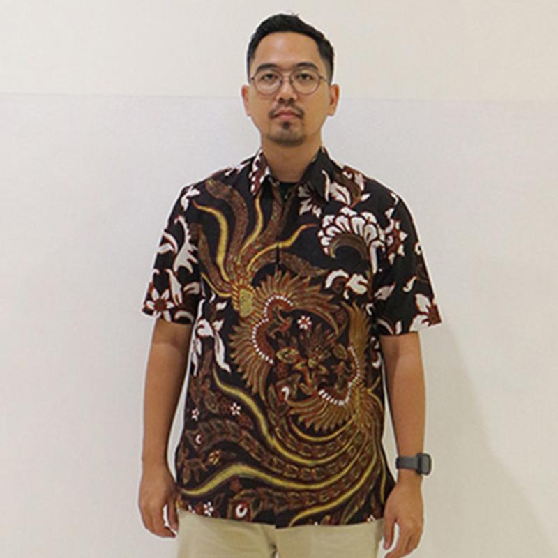 Batik Semar Pria Hem Pendek C Citra Budaya Kc 486A 99 M Rg