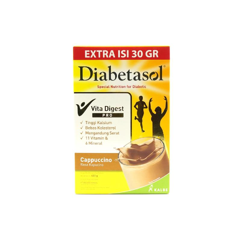 Diabetasol Cappucino 600 Gr