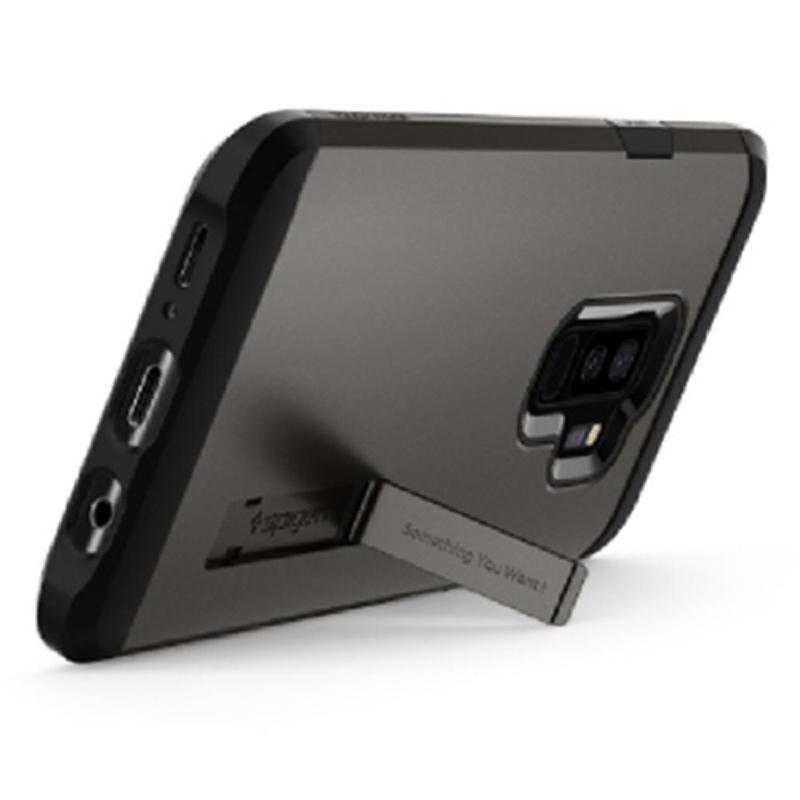Spigen Galaxy S9+ Case Tough Armor - Gun Metal