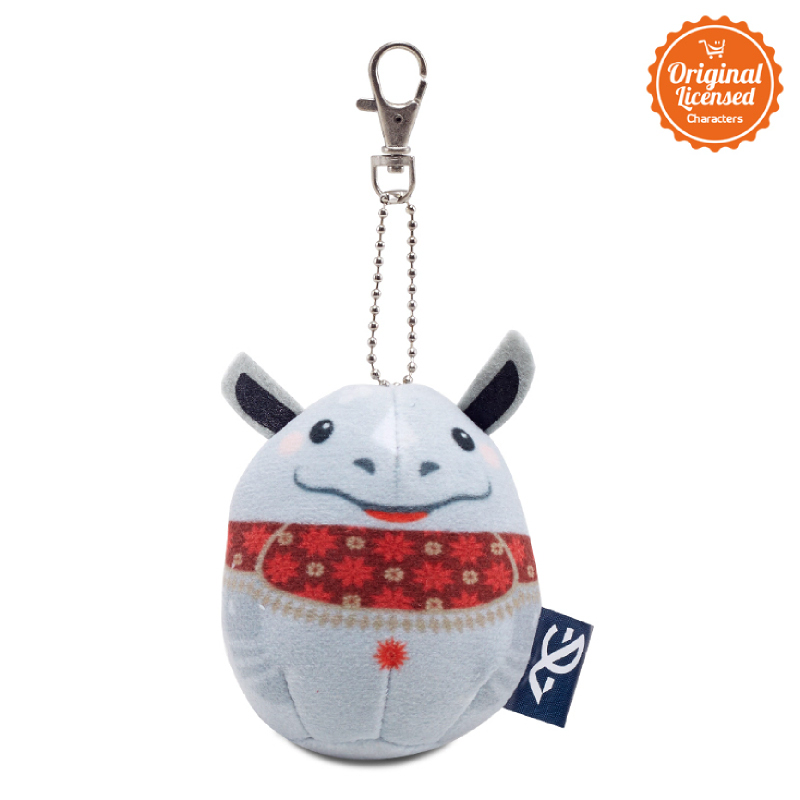 Asian Games 2018 Keychain Egg Doll Kaka 3 Inch