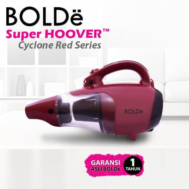 BOLDe Vacuum Super Hoover Cyclone Red Series