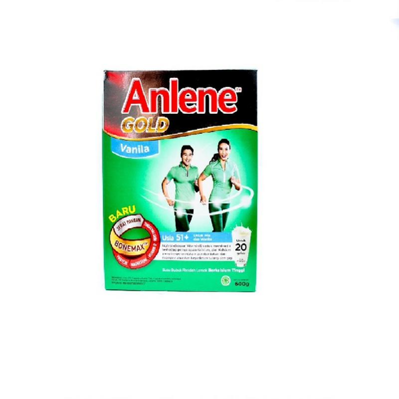Anlene Powder Milk Gold Vanila 600G