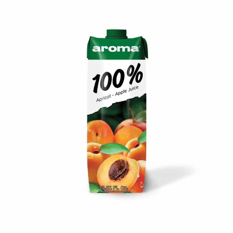 Aroma Apricot & Apple Juice 1000 Ml