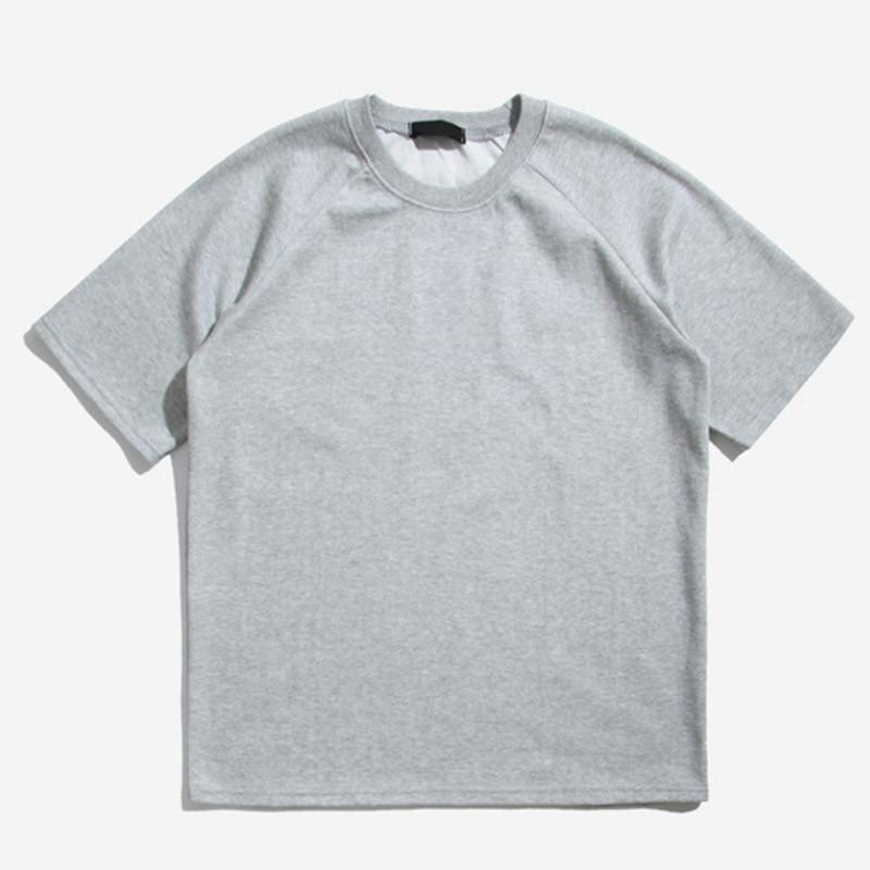 [NBA.03] Tetris Raglan Short Sleeve T-shirt GREY