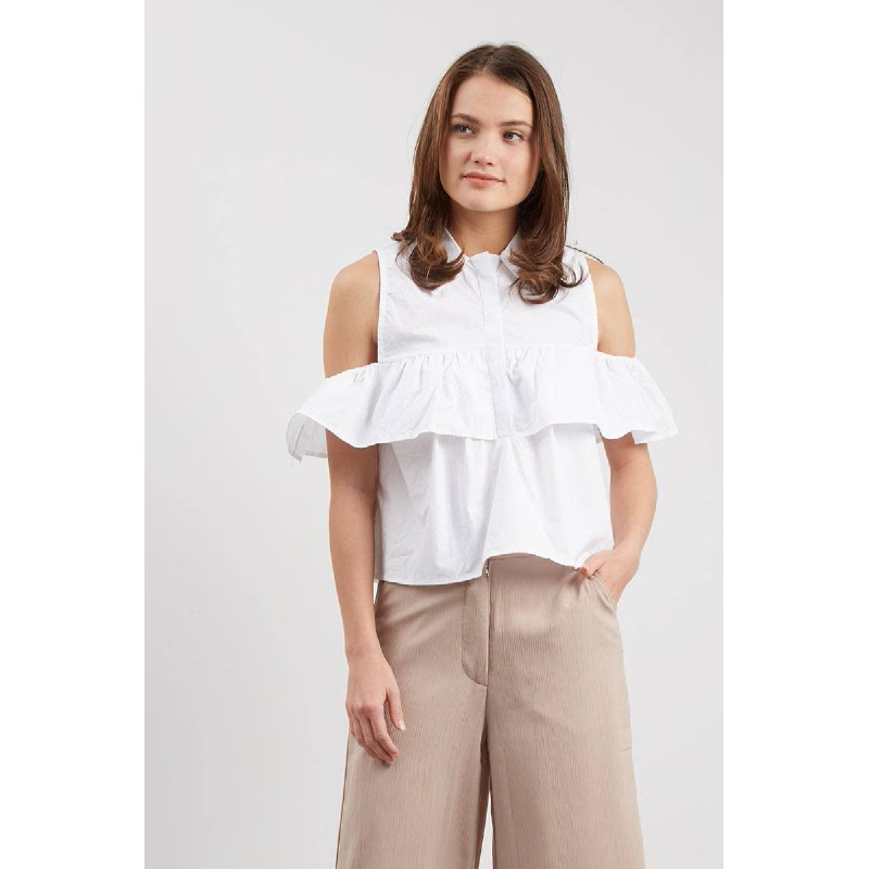 GW Elstra Top in White