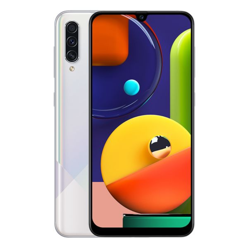 Samsung A50S (4-64GB) Prism Crush White