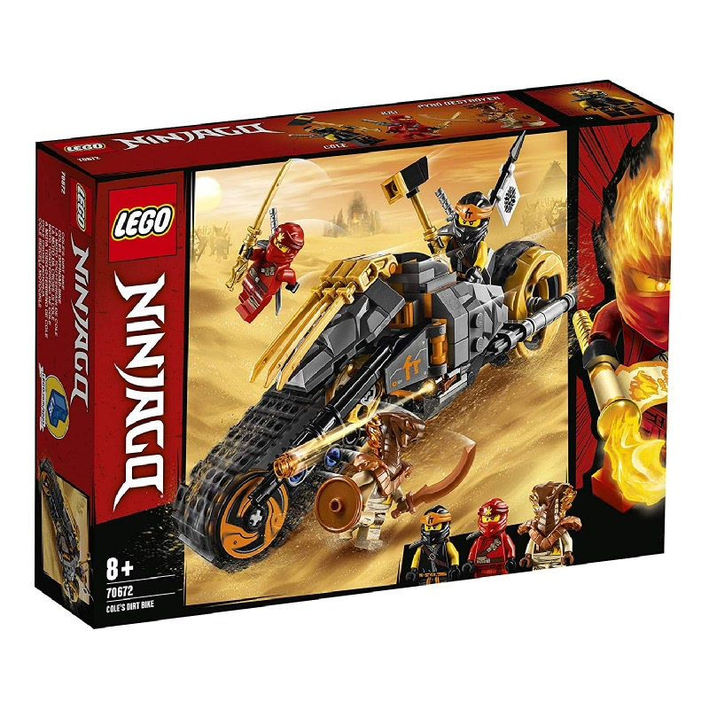 LEGO® NINJAGO® 70672 Cole's Dirt Bike