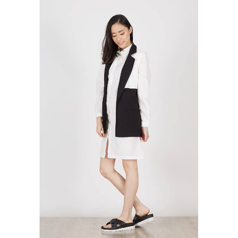 Gabriella Black Waist Coat