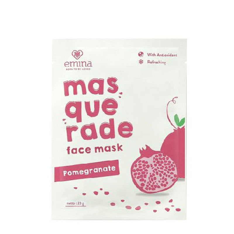 Emina Face Mask Pomegranate 23 Gr