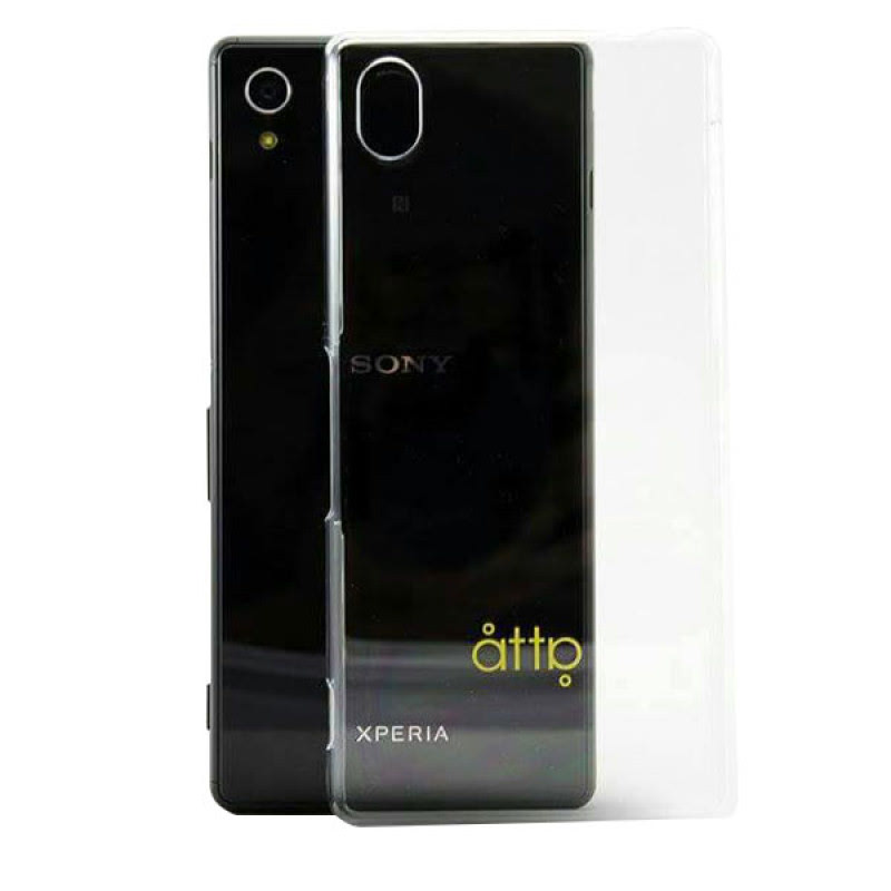 Atta Crystal Slim Case + Tempered Glass Clear For Sony Xperia Z5