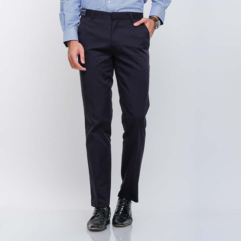 Gianni Visentin Long Pant Slim Biru Tua