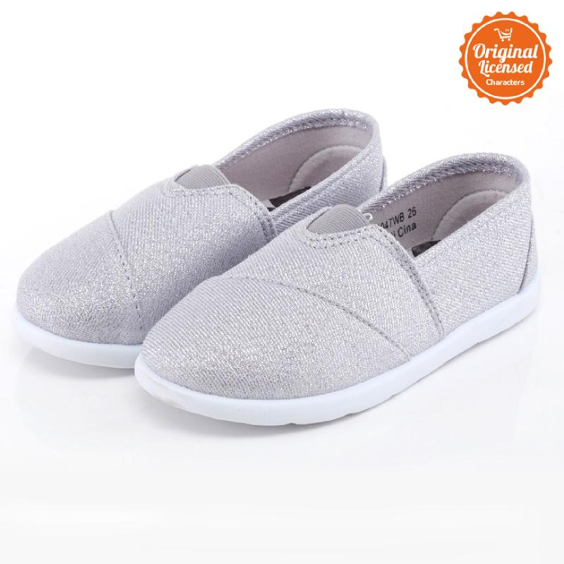 Disney Tsum Tsum Flat Shoes Girl Silver